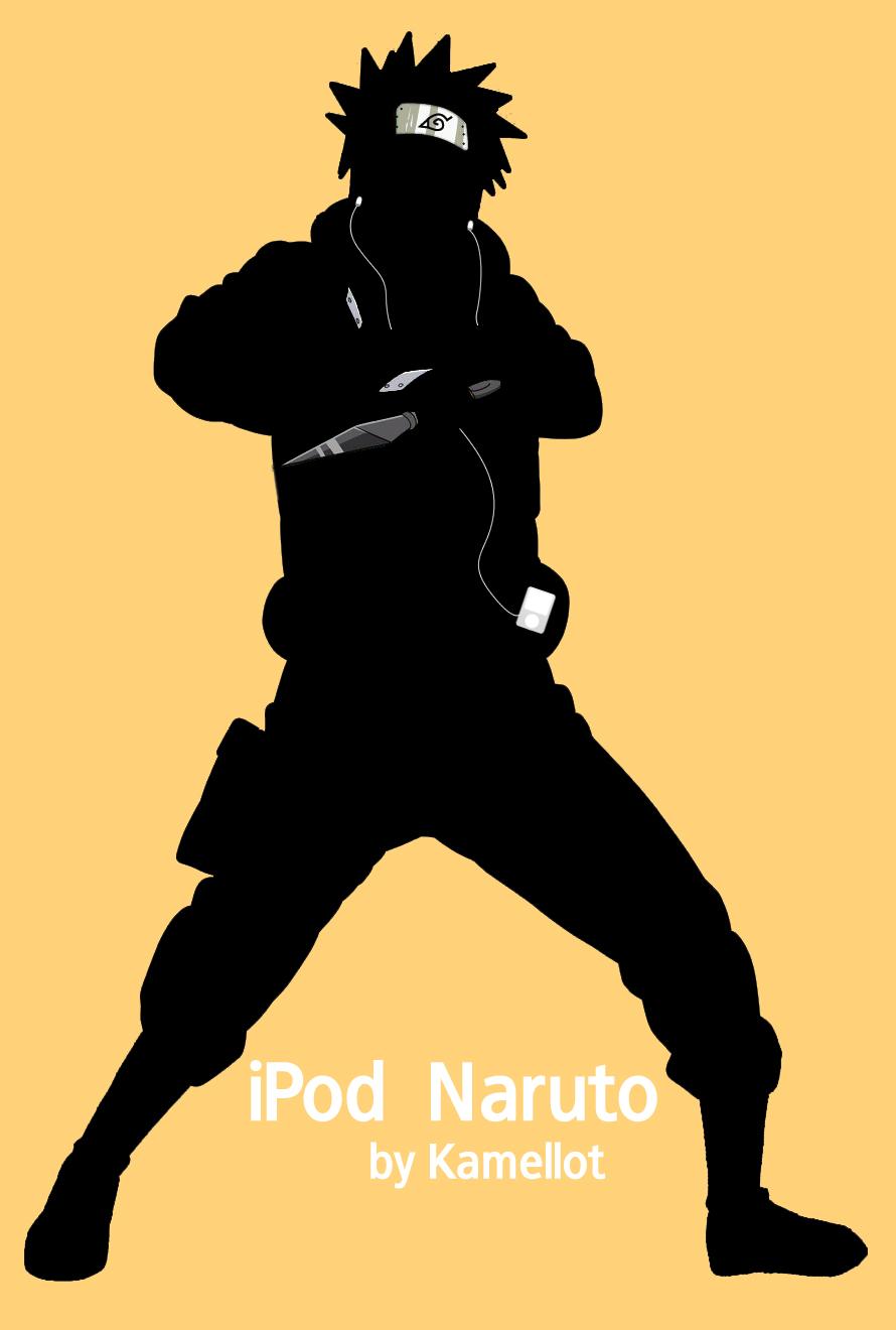 Best Wallpaper Naruto Silhouette - naruto_ipod_style_by_k_a_m_e_l_l_o_t  Gallery.jpg