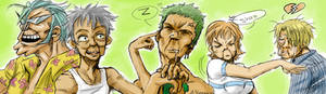 One Piece - Old Farts