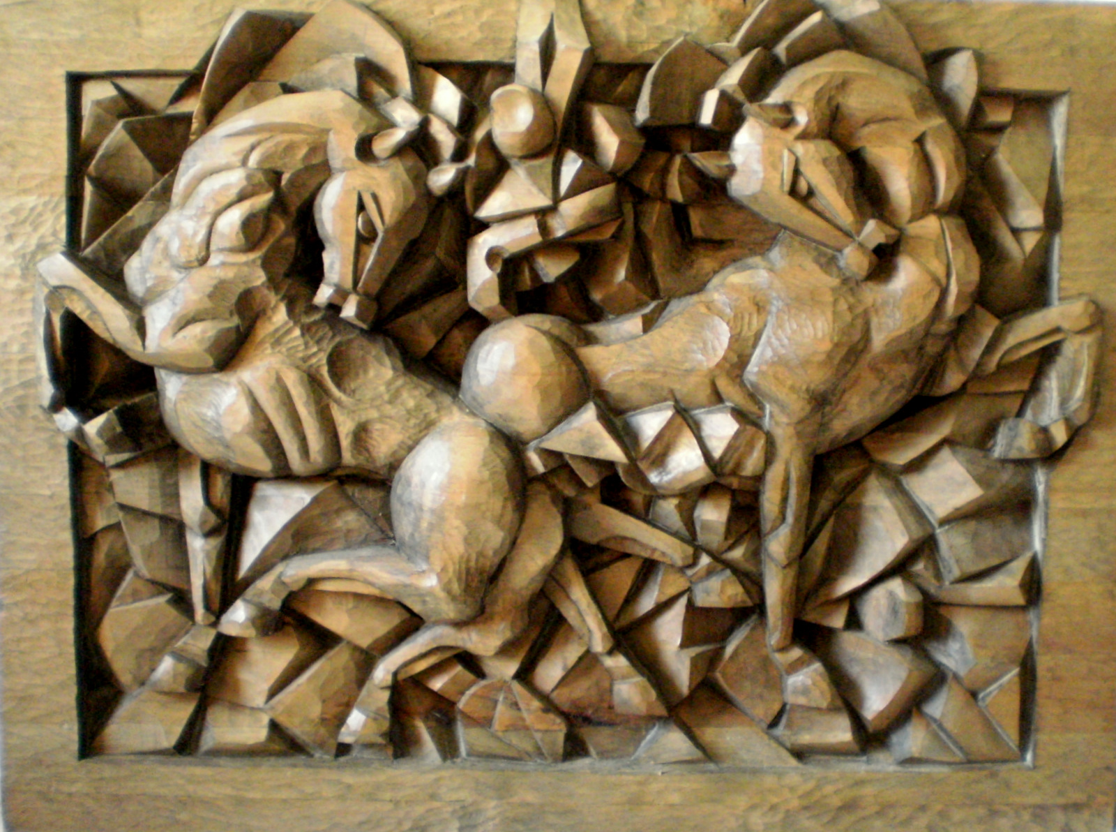 Woodcarving  horse by evertsss