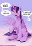 Purple Alicorn Retake
