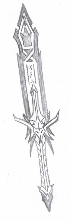 Unnamed Blade by KingDarkCatastrophe
