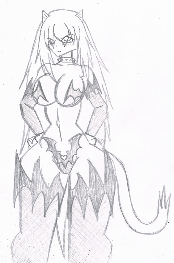 Princess the succubus by KingDarkCatastrophe
