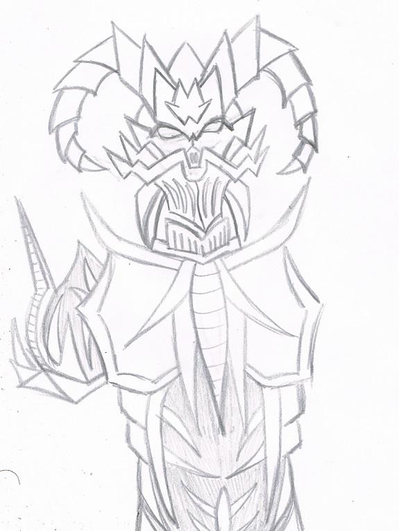 Demon Armor WIP by KingDarkCatastrophe