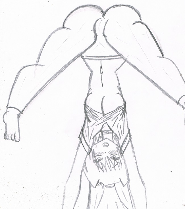 Reiko exercise right by KingDarkCatastrophe