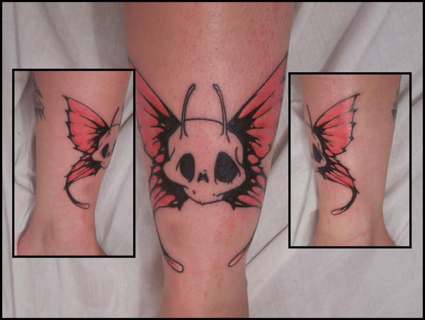 skull fairy tattoo by ~AmberlyStorm on deviantART