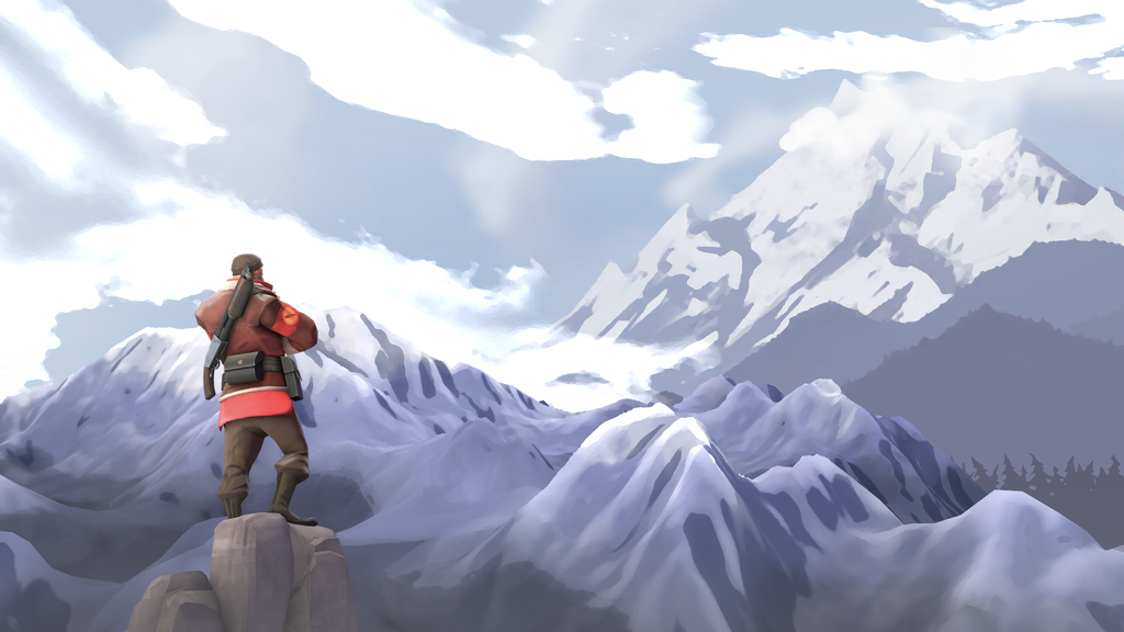 [SFM] Mountain Climber by MaxMartian
