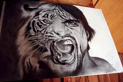 Tiger man by YowZeP
