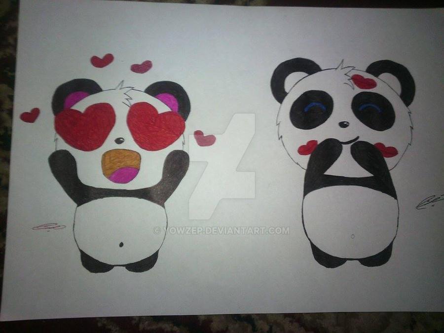 Pandi Facebook emoticons by YowZeP