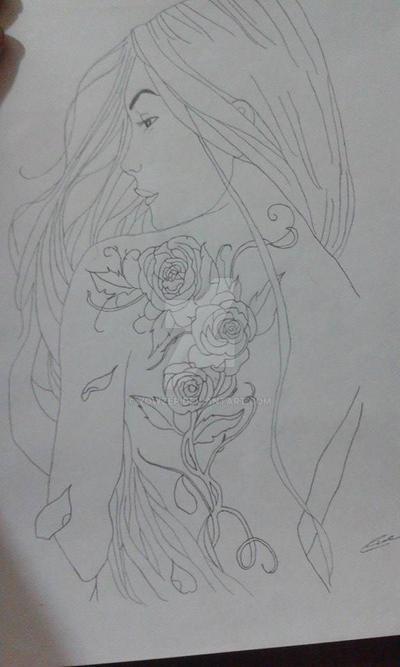 Flower girl (ROSE) by YowZeP