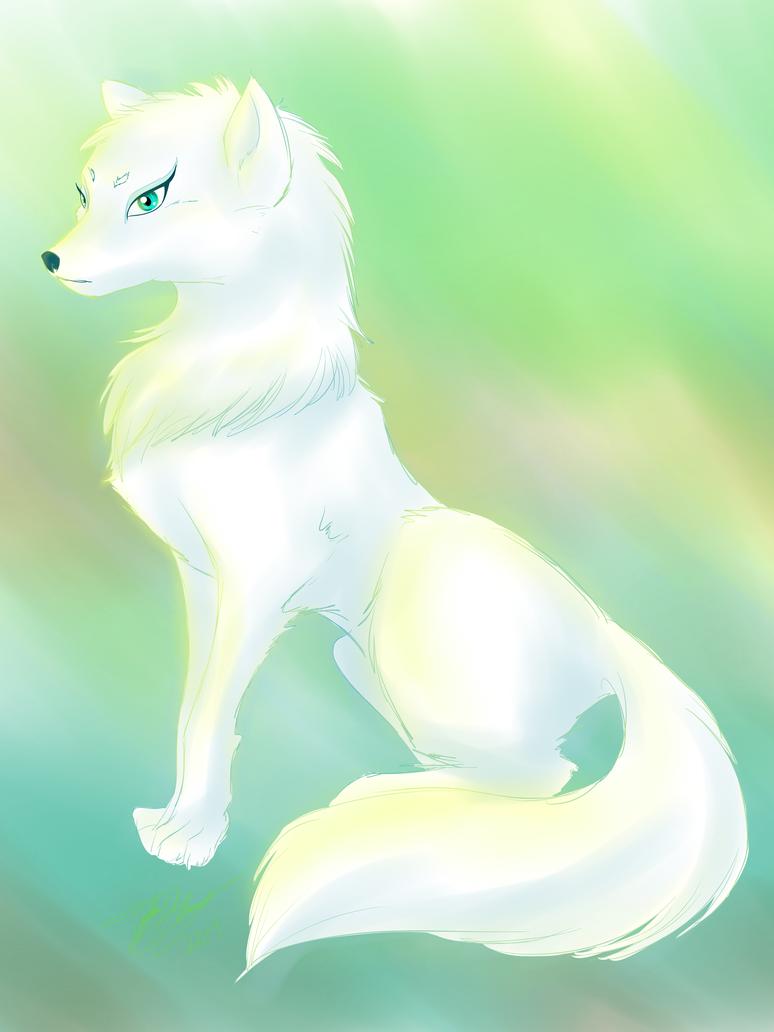 White Wolf by 8bitsofmagic