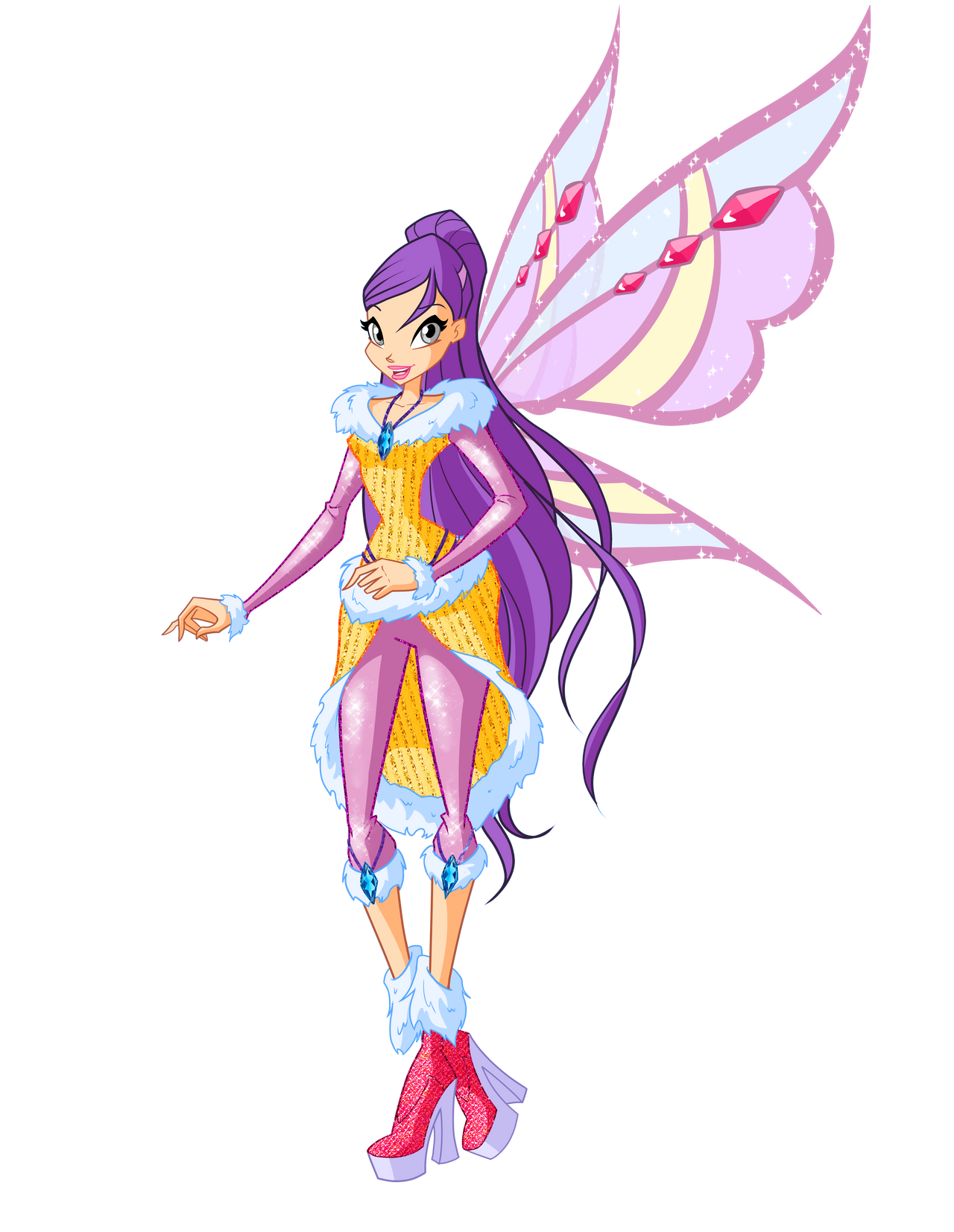 Winx club musa flyrix coloring pages coloriage - Source