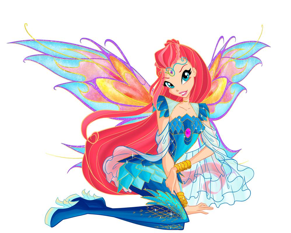 Winx club season 6 Bloom Bloomix by Forgotten-By-Gods