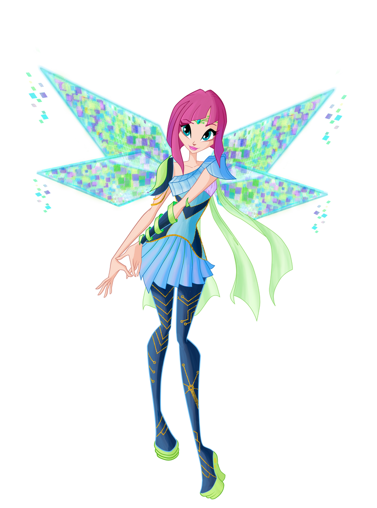 Winx Club.Tecna Bloomix 6 season by Forgotten-By-Gods