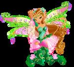 Winx Club season 6 Flora Bloomix