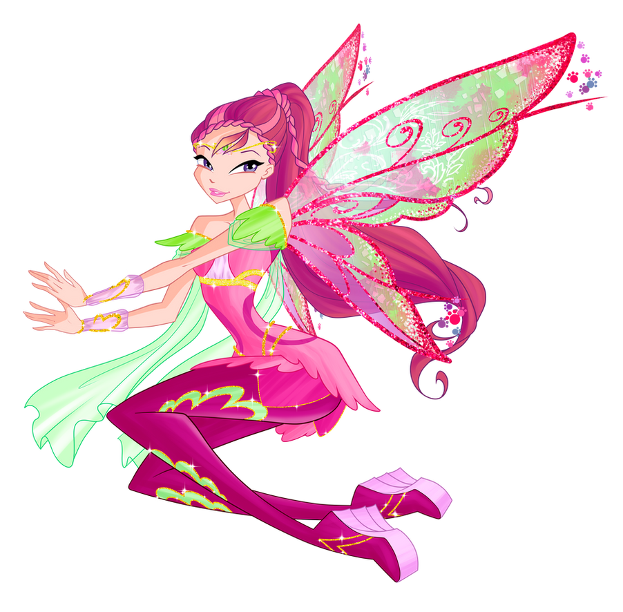 Winx club 6 season Roxy Bloomix by Forgotten-By-Gods