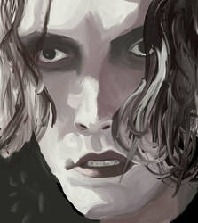 Brandon Lee  - The Crow by dum-funy