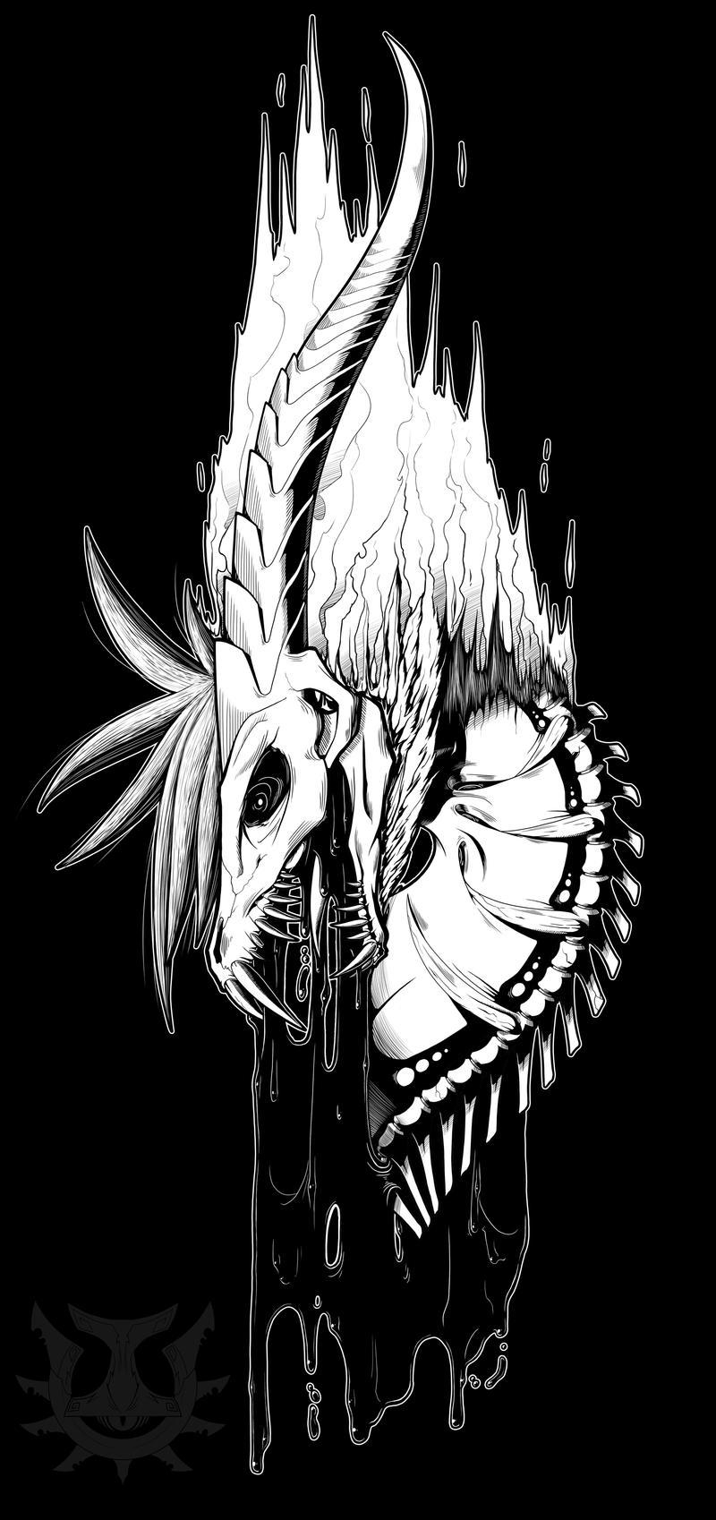 Black and White: Rage Demon by Genesisnx