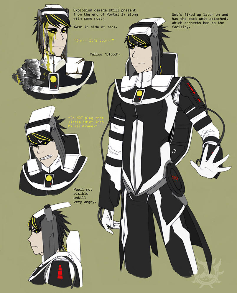 Portal 2: GLaDOS by Genesisnx