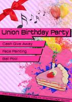 Poster: Uninon Birthday Party by Truesilvers