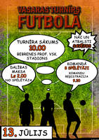 Football Tournament Poster 2 by Truesilvers