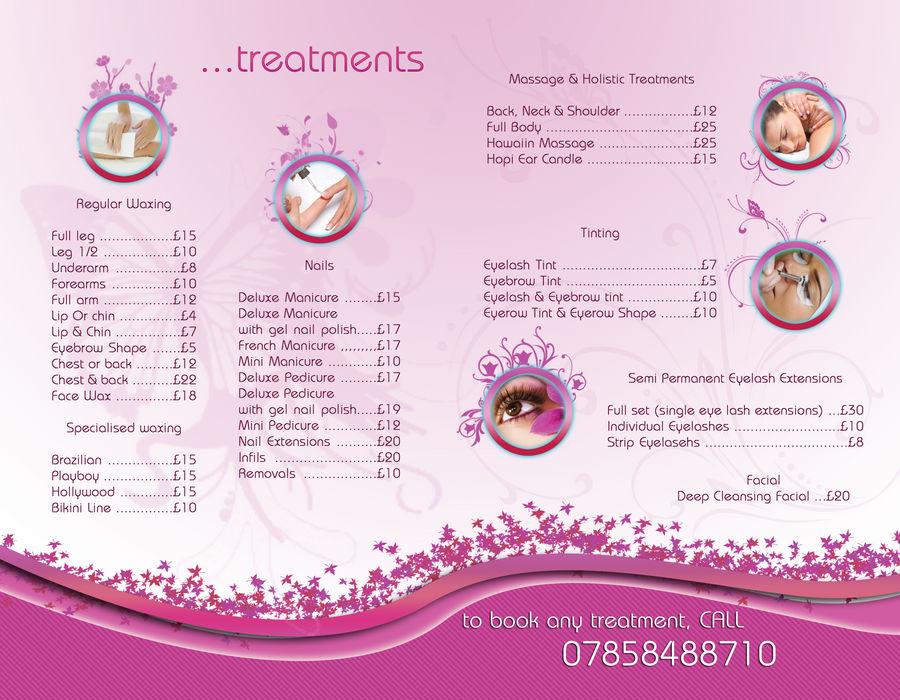 Beauty Treatment Brochure (Inside) by Truesilvers