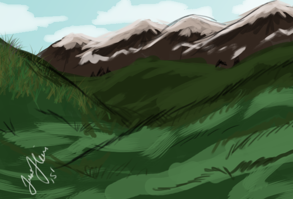 Background Speed Paint by MrsWhisker