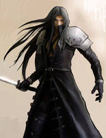 Sephiroth by nickchong