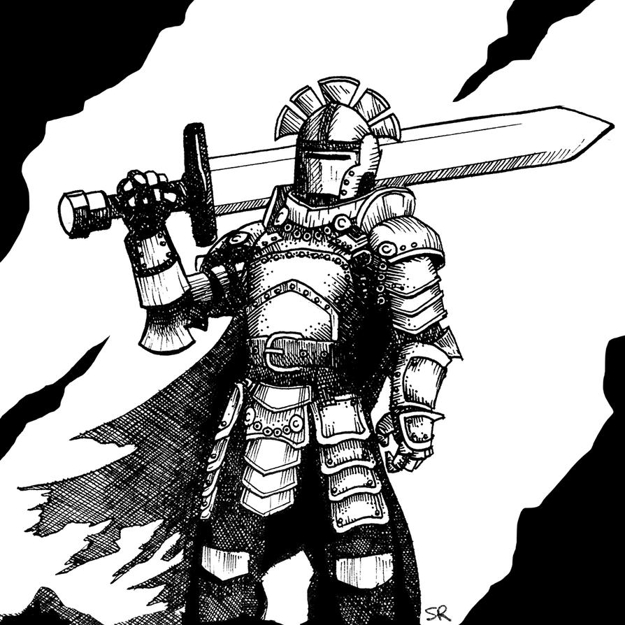 Knight by StuartRobertson