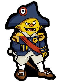 Admiral Toadie by StuartRobertson