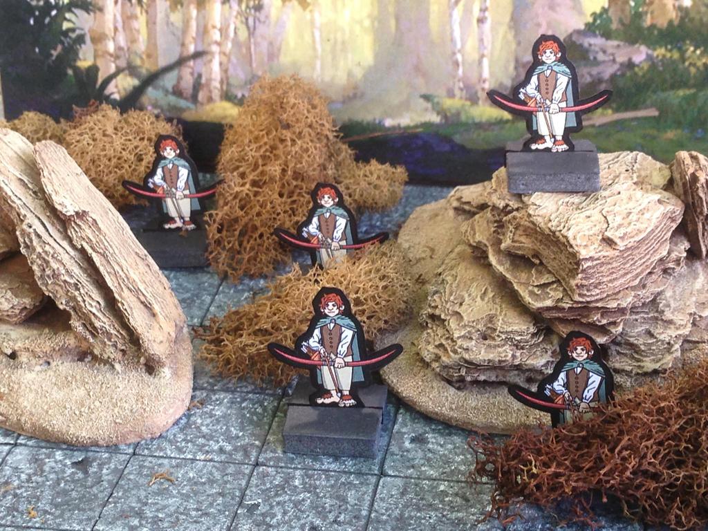 Halfling Archer Miniatures by StuartRobertson