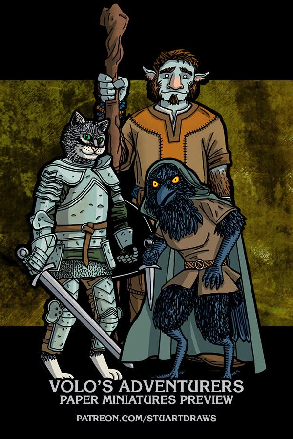 Volo's Adventurers by StuartRobertson