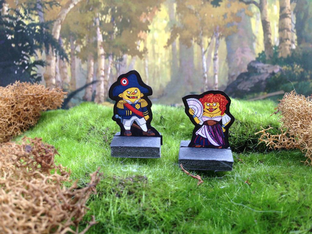 Goblin Nobles Miniatures by StuartRobertson