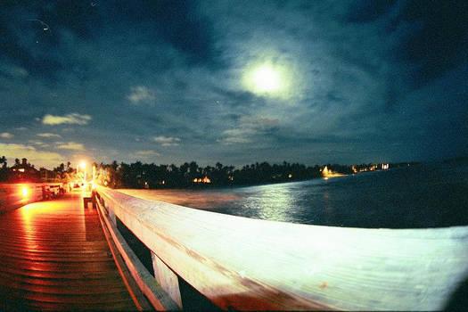 Moonlight on a Naples Pier
