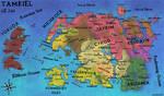 Geopolitical Map of Tamriel in 1E241