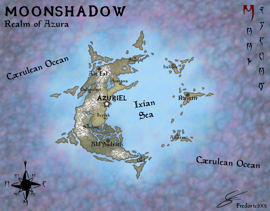 Moonshadow map by fredoric1001