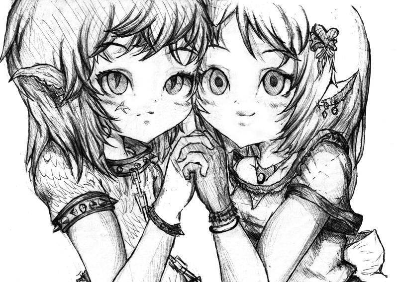 friends by kiomaru1