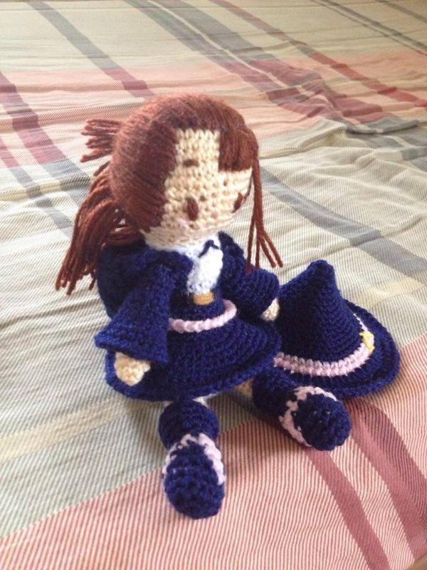 Little Witch Academia Akko Amigurumi by Gingerko on DeviantArt