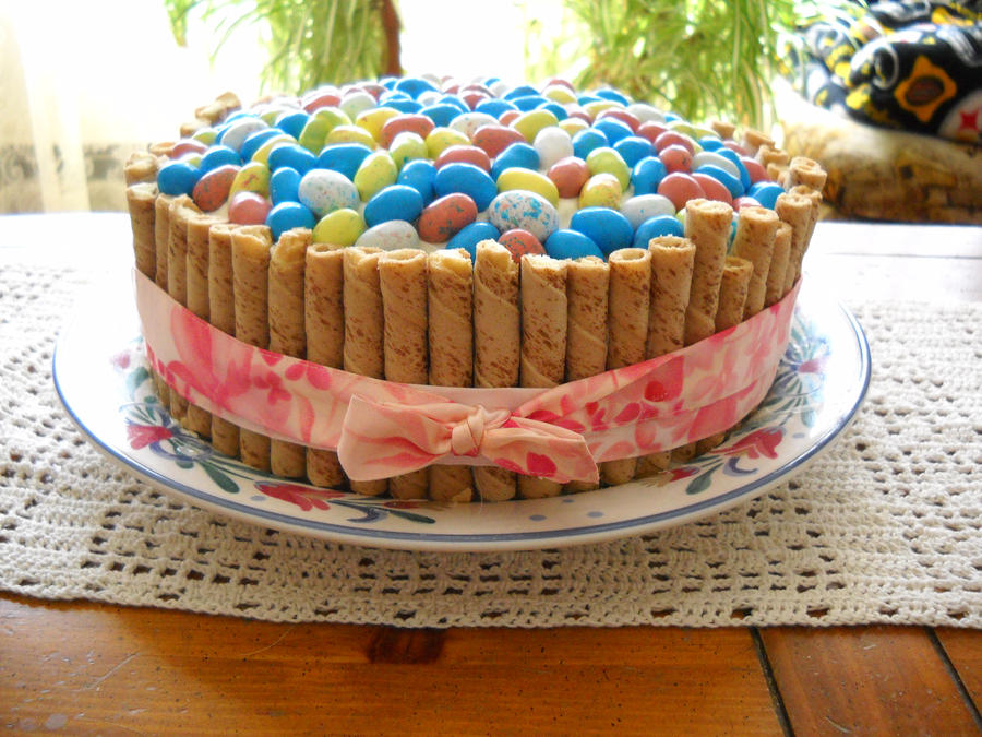 Feature easter baking ideas by claremanson on deviantart easter basket cake by animalluver1985 negle Images