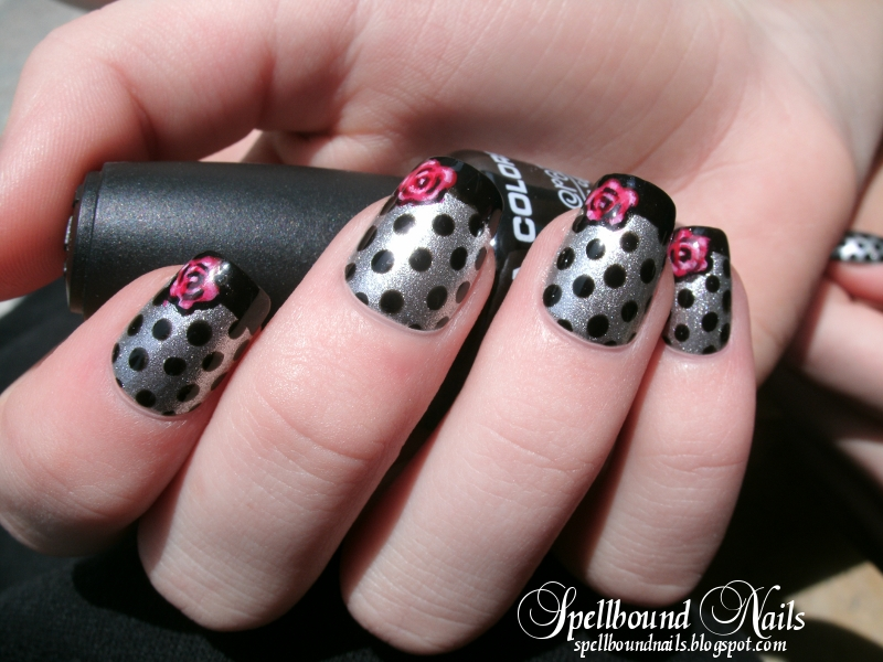 Spring Fling Nails by Animalluver1985