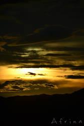Sunset by AfrinaRiRi