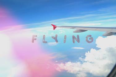Flying by AfrinaRiRi