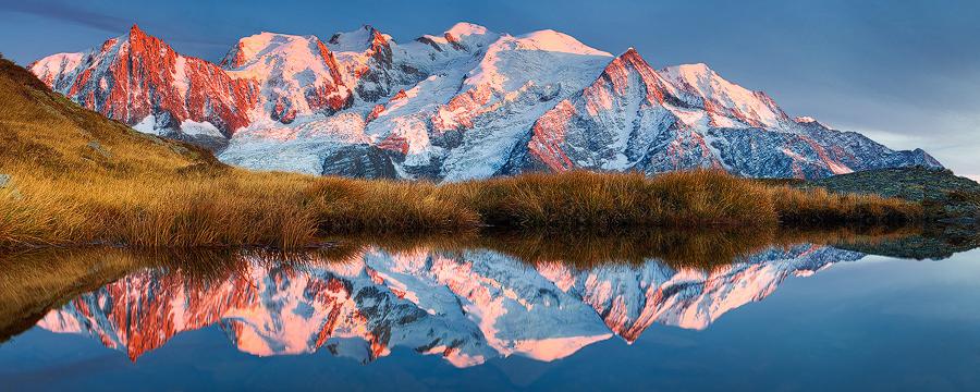 Mont Blanc Glow by TobiasRichter