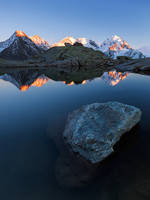 Bernina Alpenglow by TobiasRichter