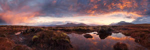 Highland Sunrise by TobiasRichter