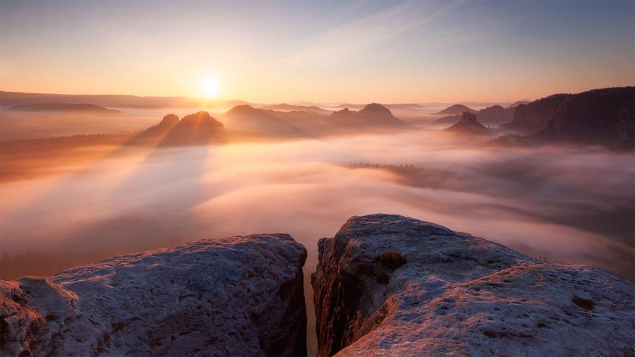 Ice Saints Sunrise by TobiasRichter