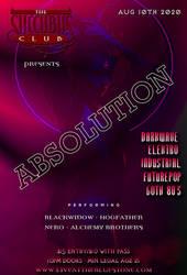 VTM Succubus Club Flyer