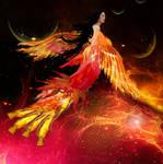 Phoenix Queen by lunaperlada