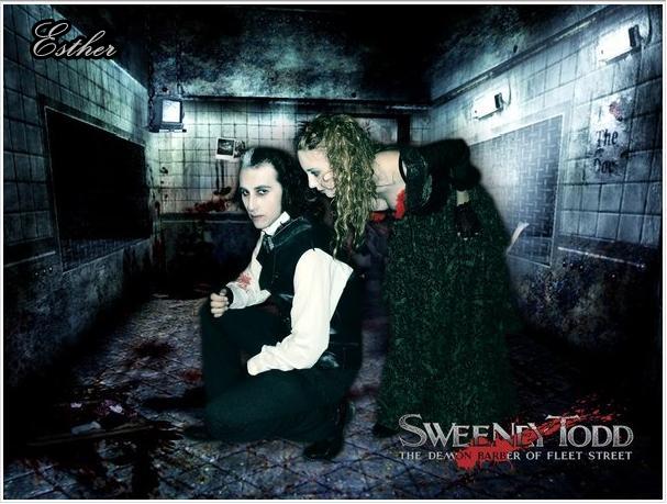 Sweeney Todd And Mrs.Lovett by Esthervampire