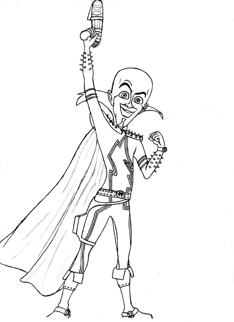 Boceto Megamind by Esthervampire on DeviantArt