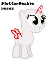 Pony base #2 by FlutterDashie-bases